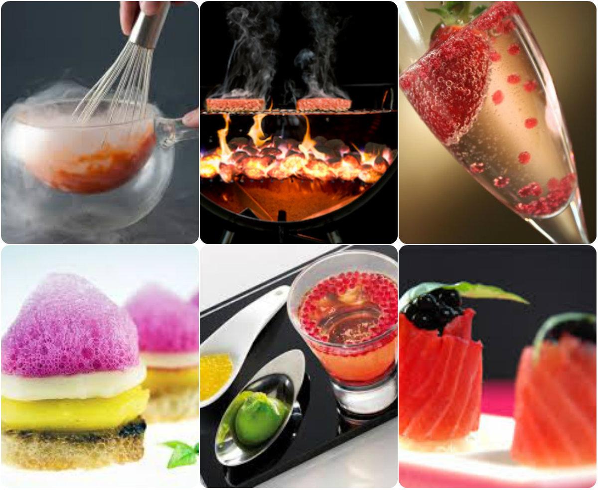 Tendencias en la gastronomia moderna cocina molecular o for Que es la comida molecular