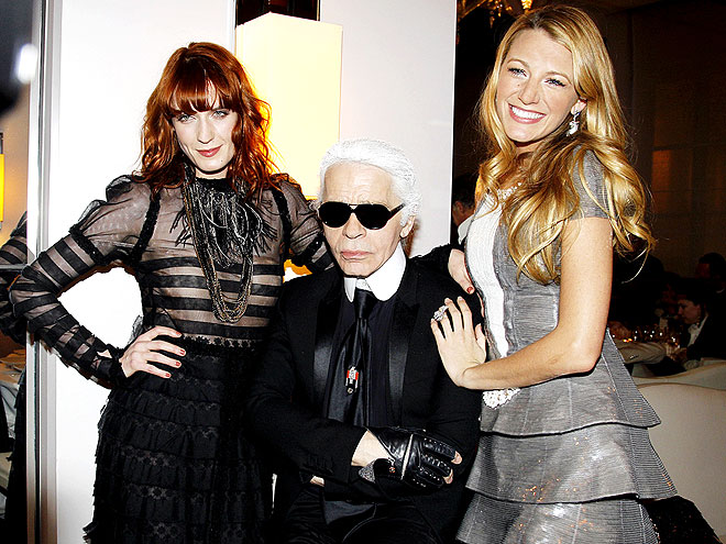 Florence Welch, Karl Lagerfeld