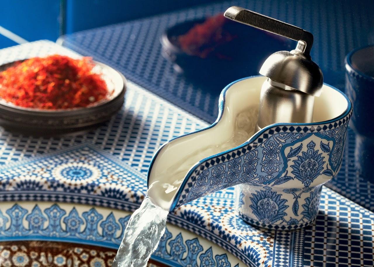 Vòi rửa tay Marrakesh (KOHLER) cảm hứng từ phương Đông huyền bí