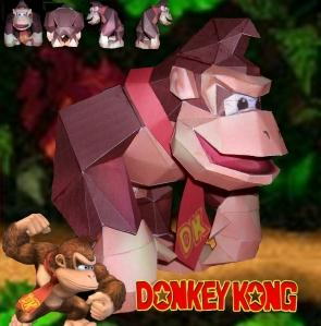 Donkey+Kong+Papercraft-+rap.jpg
