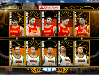 NBA 2K13 National Teams Mod