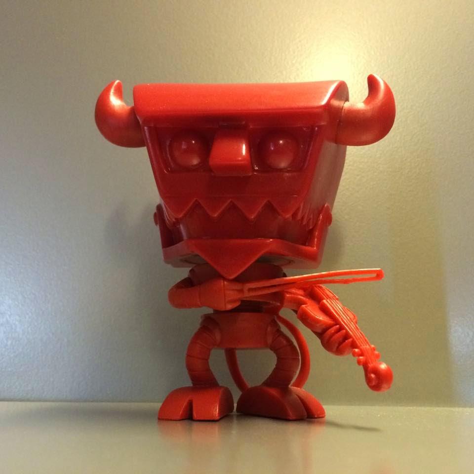 Funko Pop! Fiddle Robot Devil