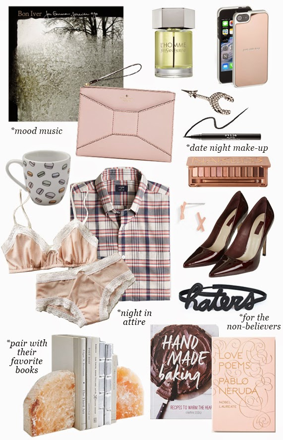 The Steele Maiden: Valentines Day Gift Guide for him and for her