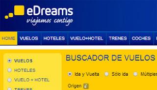 edreams agencia de viajes online