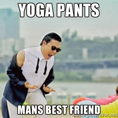 Guys in Girls Yoga Pants Guys Love Girls in Yoga Pants