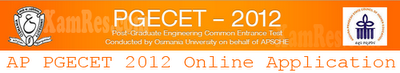 APPGECET 2012 Notification