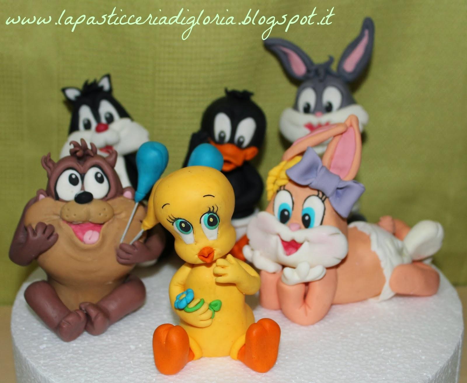 Baby looney tunes da la pasticceria di gloria su - Bebe looney tunes ...