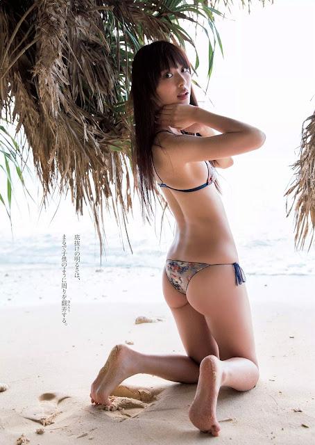 内田理央 Uchida Rio Weekly Playboy Nov 2015 Images 5