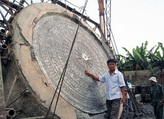 Le plus grand tambour en bronze au Vietnam