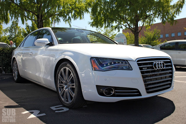 2014 Audi A8 L Quattro with clean diesel