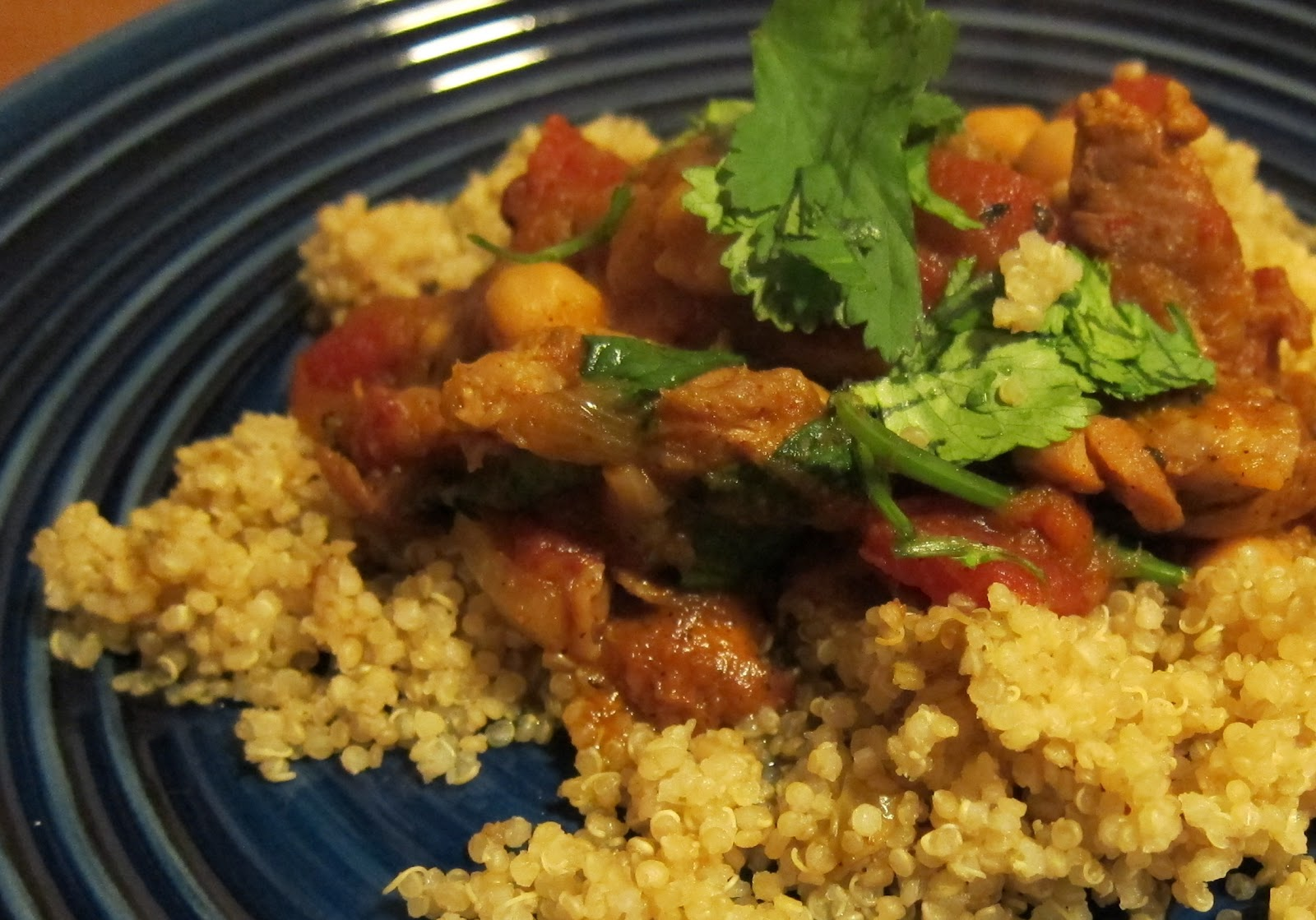 ... Project: Moroccan Chicken, Chickpea, and Caramelized Vegetable Tagine