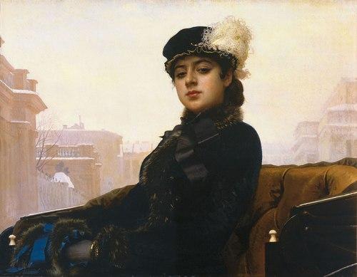 Portrait of an Unknown Woman, Ivan Nikolaevich Kramskoi