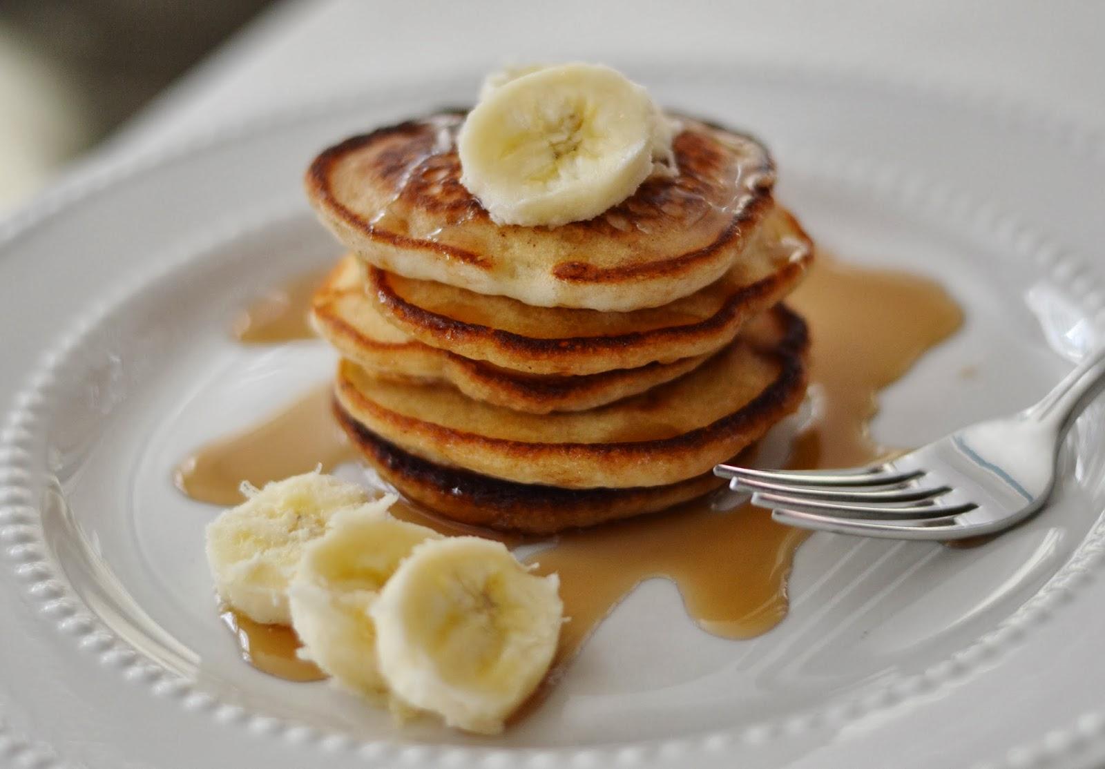 The Art of Comfort Baking: Mini Banana Pancakes
