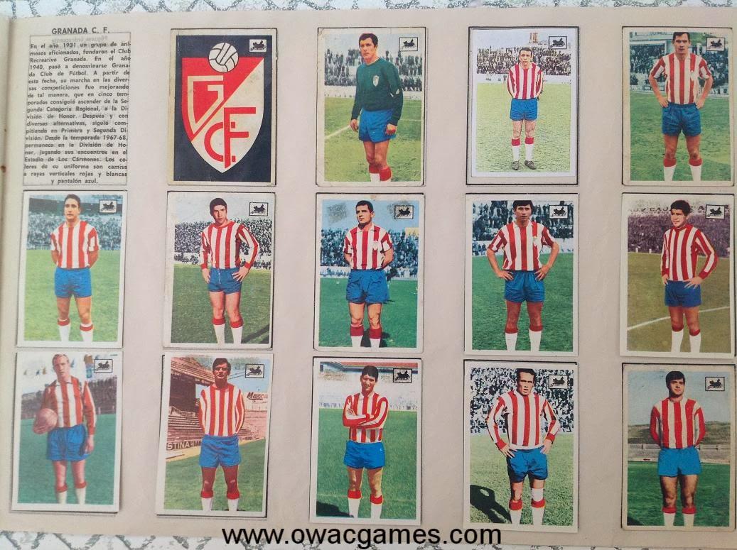Granada C.F. 1969-70 Chocolates La Cibeles