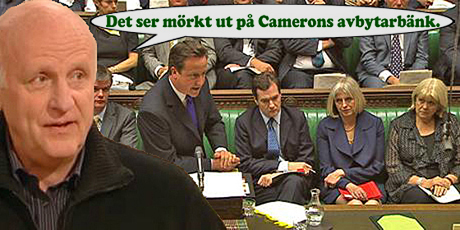 Arne Hegerfors: Det ser mörkt ut på Camerons avbytarbänk!