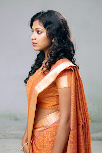 Amala Paul latest new cute looking tradition saree photos Photoshoot images