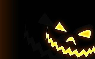 Halloween Face Dark Gothic Wallpaper