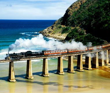most dangerous railroads in the world Outeniqua Choo Tjoe Train South Africa 8 Jalur Kereta Api Paling Berbahaya di Dunia
