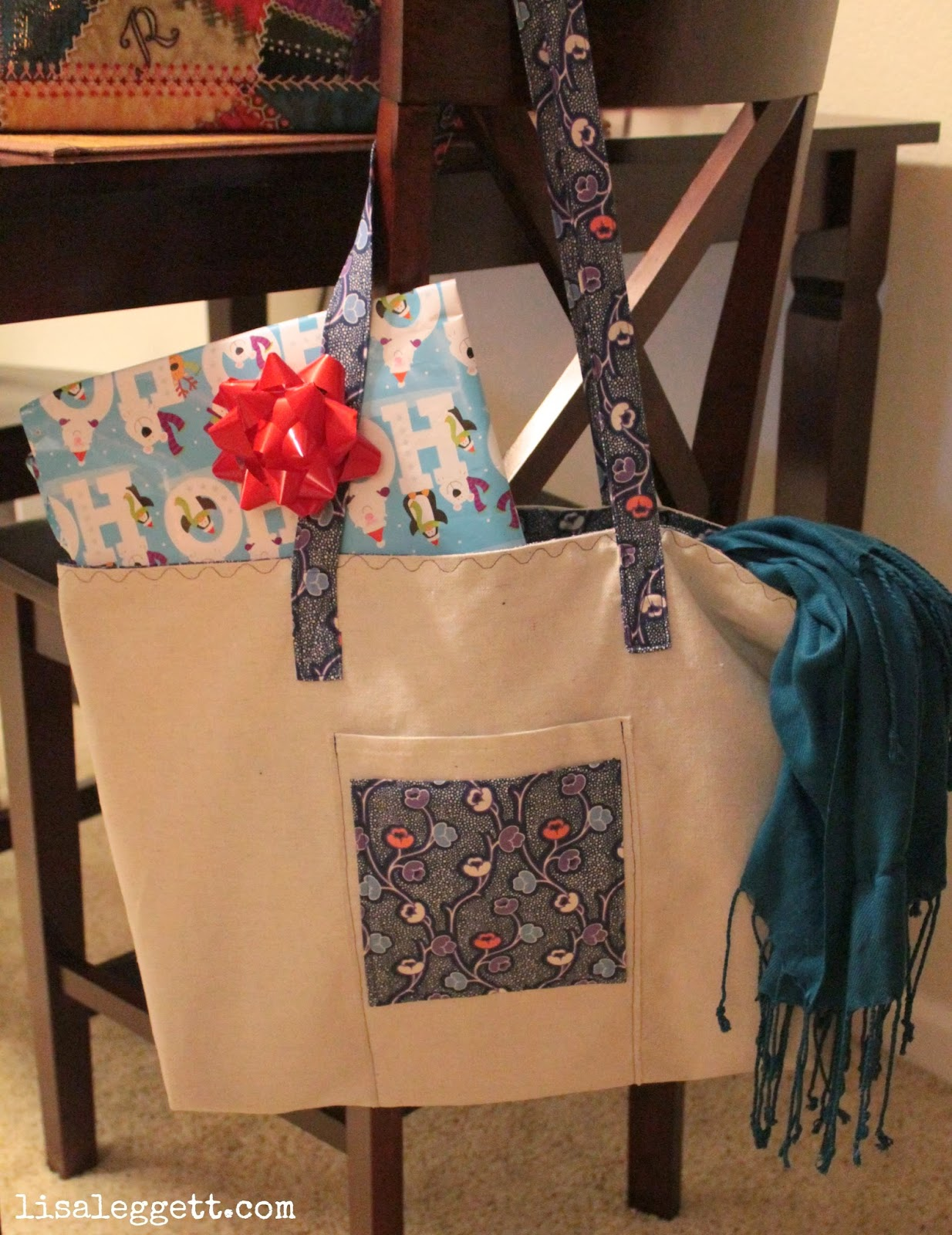 Large tote for toting lots of things!