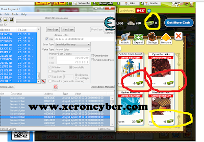 Cheat Cash & XP Social Empires With Cheat Engine