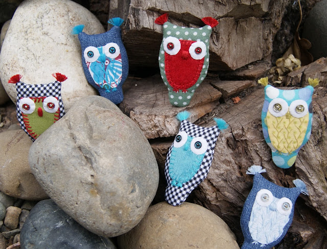 текстильные броши, совы, текстильные украшения, текстильные совы, брошки, брошь из текстиля, брошь, текстильные птицы, украшения из текстиля,