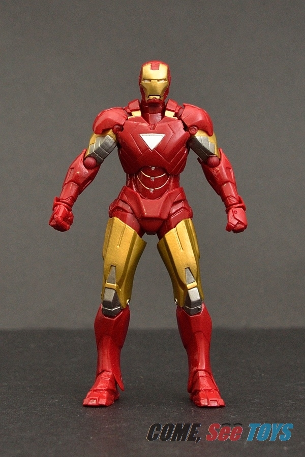 Come see toys kaiyodo revol mini iron man mark vi - Mini iron man ...