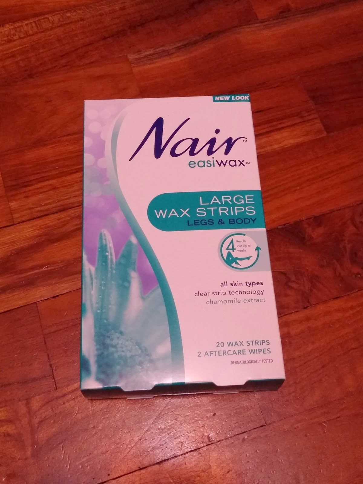 nair wax strips instructions