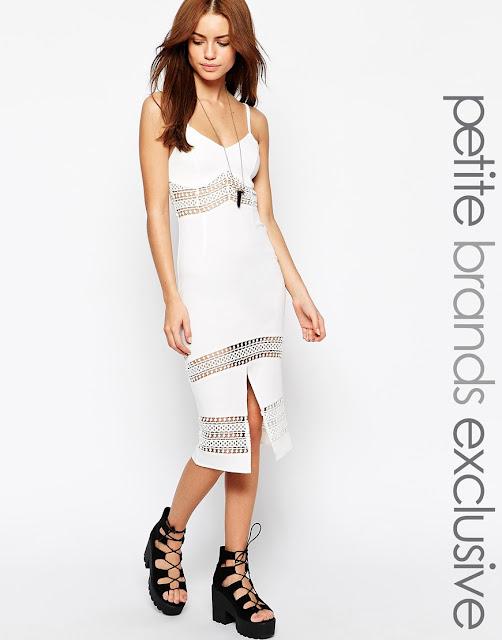 Vestidos de moda con encaje