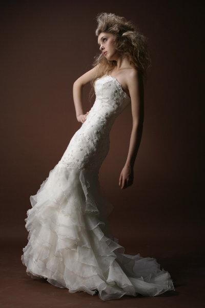 Wedding dress design hear what is said to sound modern for Modern elegant wedding dresses