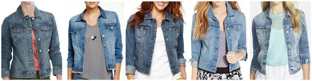 Specially Made Stretch Denim Jacket $27.46 (regular $49.95)  Tractr Jeans Basic Denim Jacket $39.97 (regular $98.00)  Stylus Denim Jacket $39.99 (regular $60.00)  Jessica Simpson Pixie Denim Jacket $49.99 (regular $69.00)  Mavi Jeans Samantha Denim Jacket $70.80 (regular $118.00)