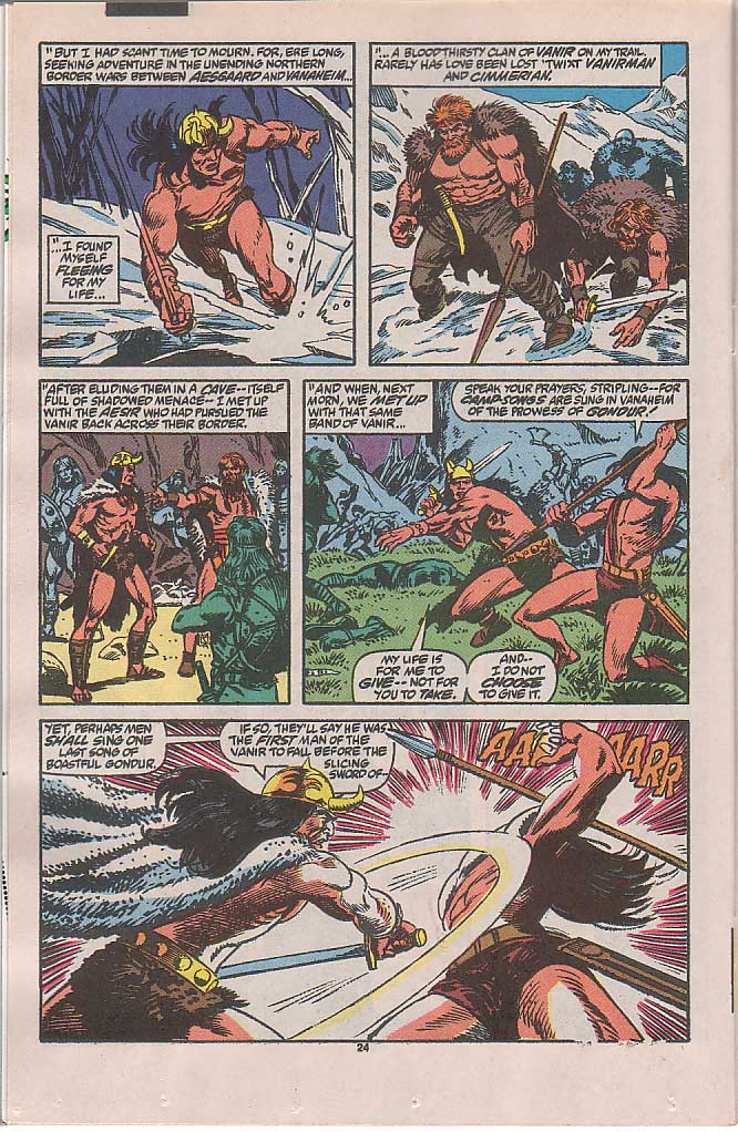 Conan the Barbarian (1970) Issue #240 #252 - English 18