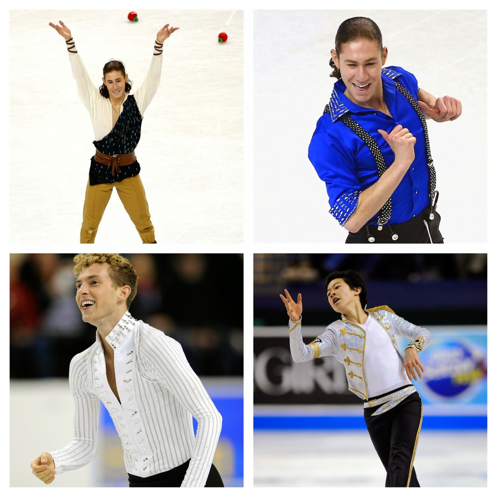ice style 2015 us figure skating championships costumes oh boys men costume highlights on jason brown nathan chen and adam rippon 2015 prudential us figure skating championships
