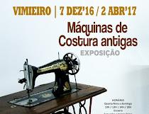 VIMIEIRO: EXPOSIÇÃO DE MÁQUINAS DE COSTURA ANTIGAS