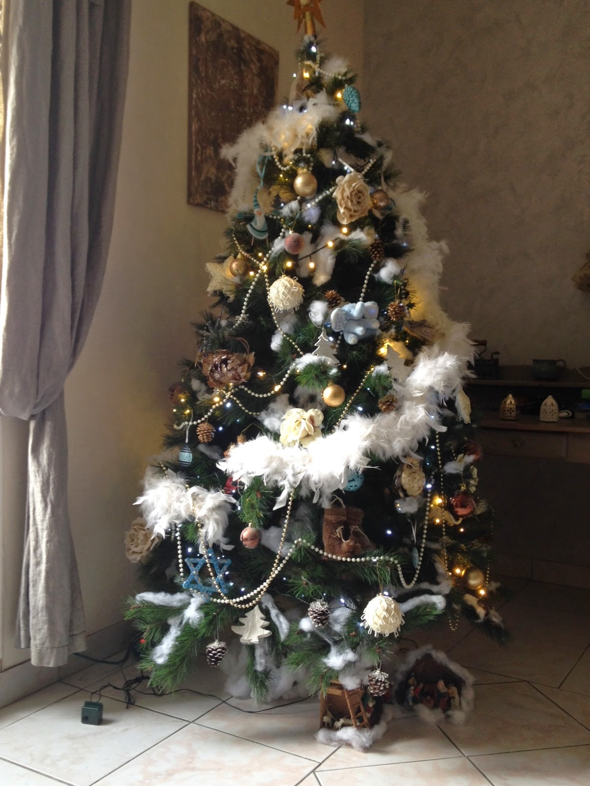 deco sapin marron