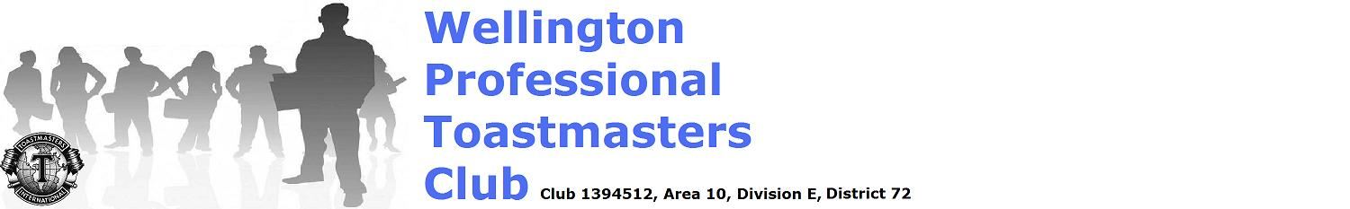 Wellington Professional Toastmasters