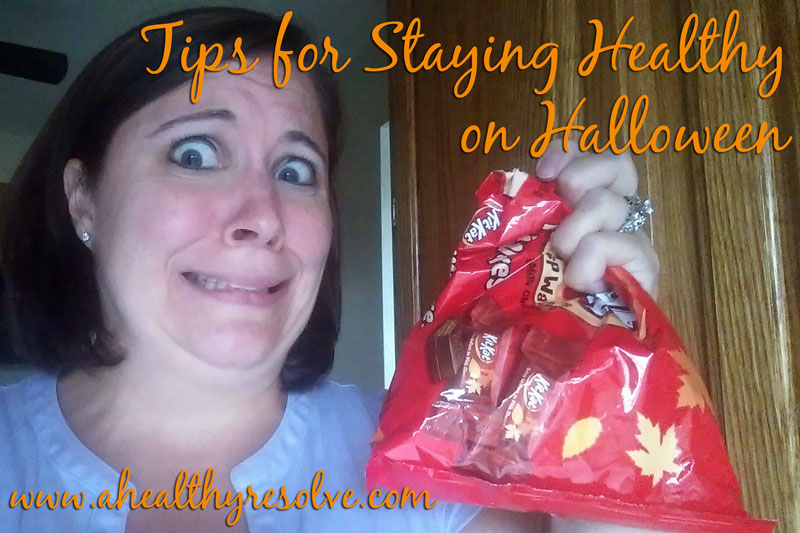 Tips for staying healthy on Halloween.