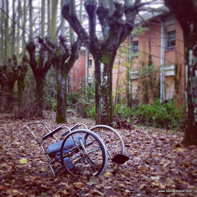abandoned mental asylum in Volterra, Tuscany, Italy, urban exploration