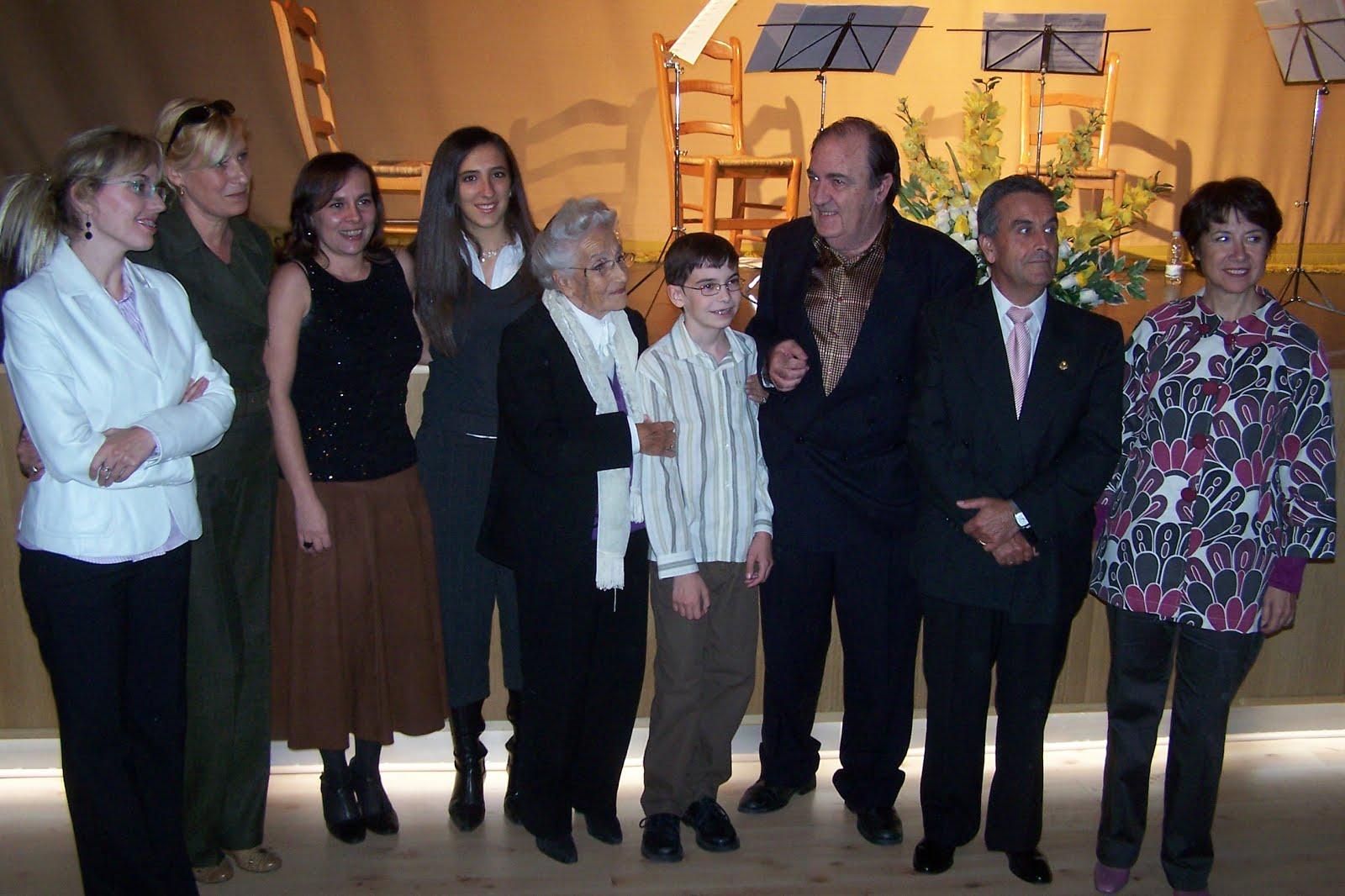Entrega de Premios 2007