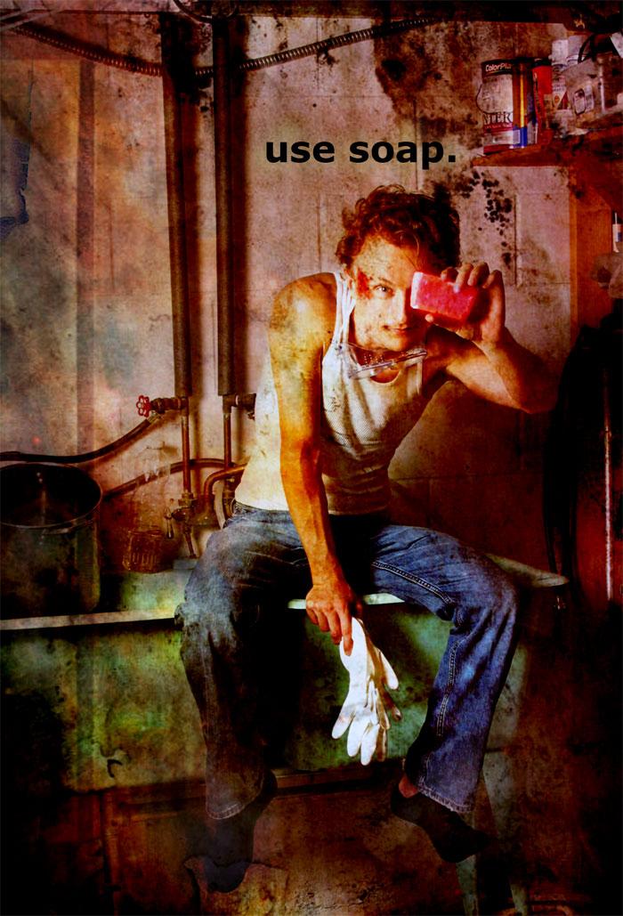 Paul Cram Underwear Soap