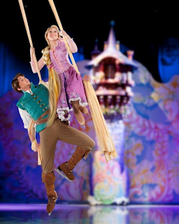 disney on ice rapunzel on swing and flynn