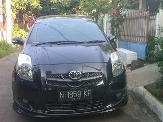 Pengiriman Toyota yaris N 1859 KF Jakarta - Malang