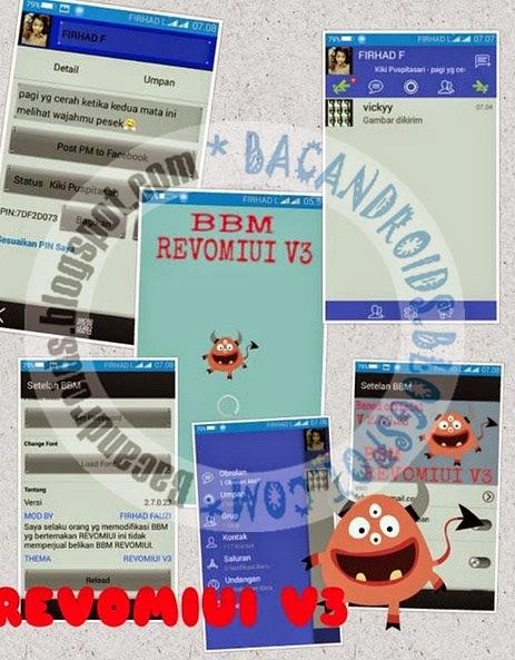 Download BBM Mod REVOMIUI Time Color Theme 2.7.0.23