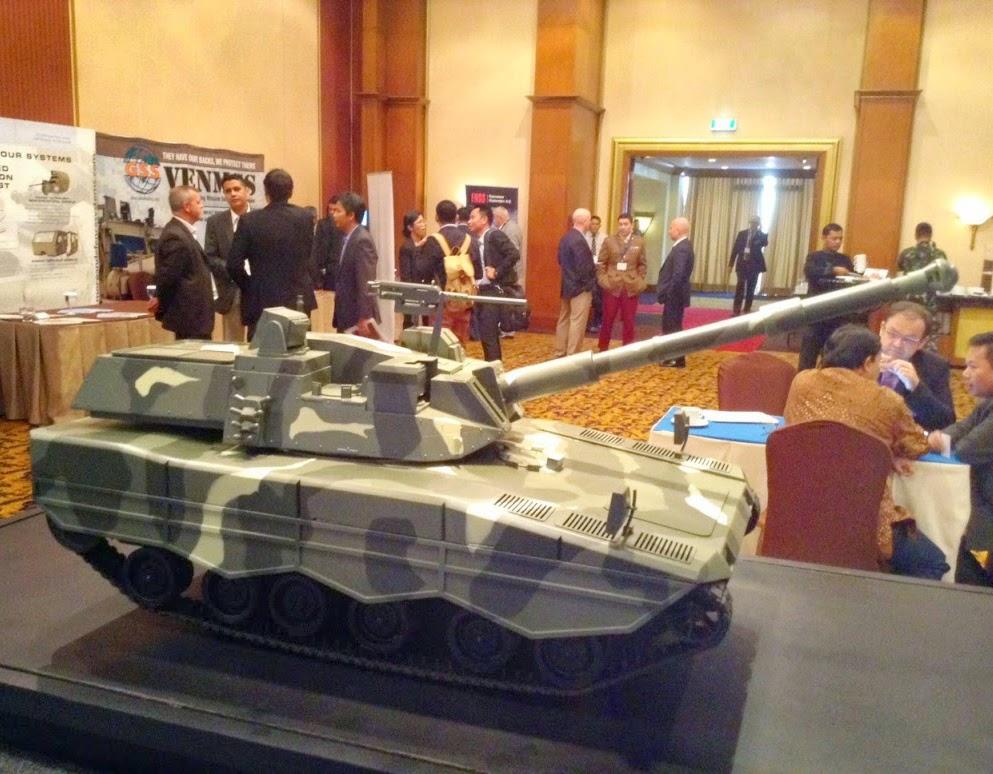 Medium Tank buatan PT PIndad
