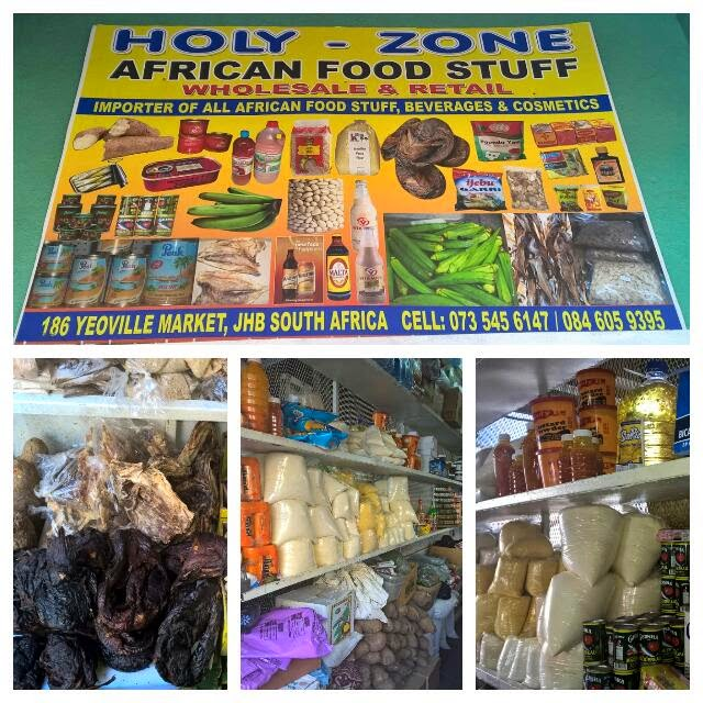 HOLY-ZONE AFRICAN FOOD STUFF