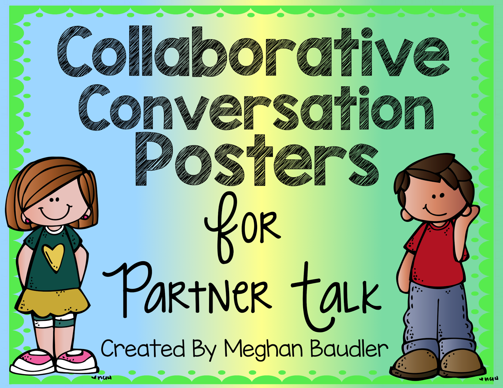 Collaborative Conversations In The Classroom ~ The creative colorful classroom collaborative conversations