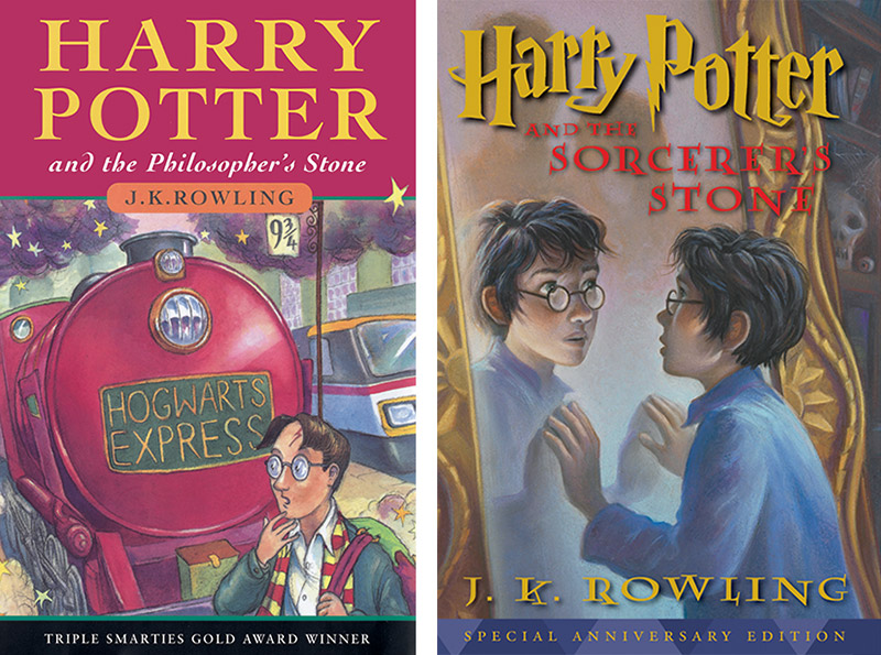 Cover Of First Harry Potter Book : Zealot readers harry potter and the philosopher s stone