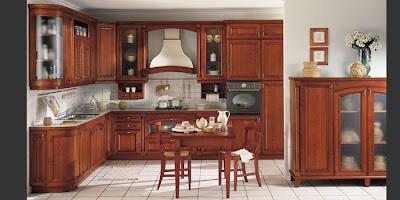 Desain Dapur Klasik 1