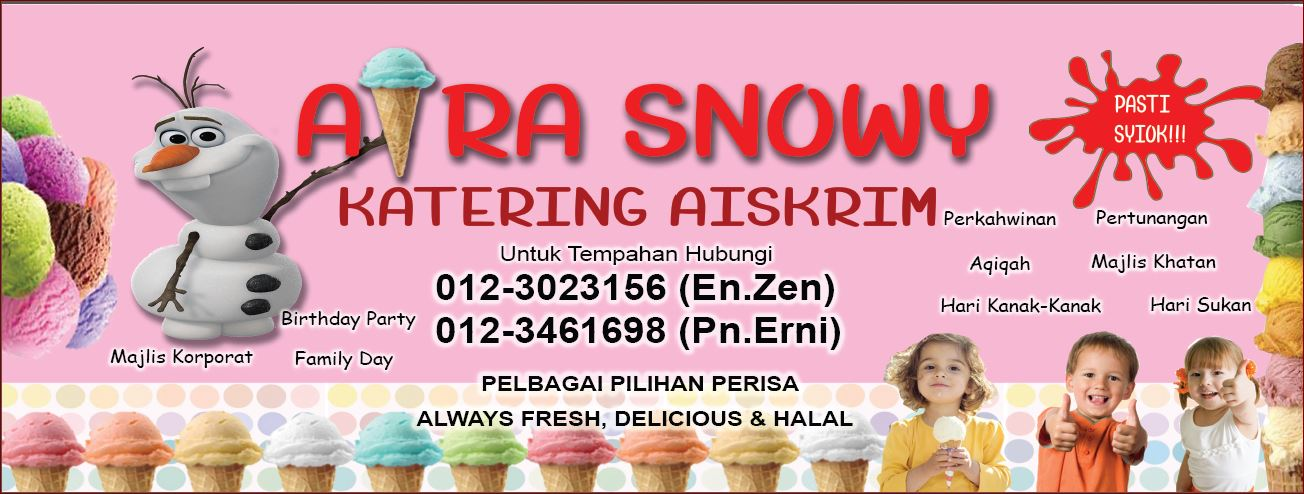 Aira Snowy - Katering Aiskrim