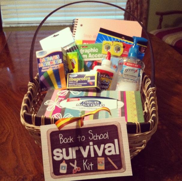 The terrific teacher diy back to school gift basket negle Gallery