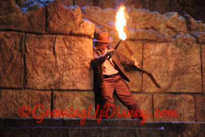 indiana jones stunt show at disney world
